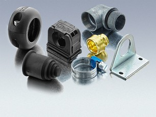 Produktübersicht Kabelschutzschlauch Zubehör