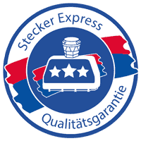 Stecker Express Qualitätssiegel