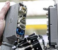 Anwendung eines Steckverbinders in der Industrie oder Maschinenbau