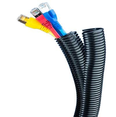 PA Kabelschutzschläuche von Flexa