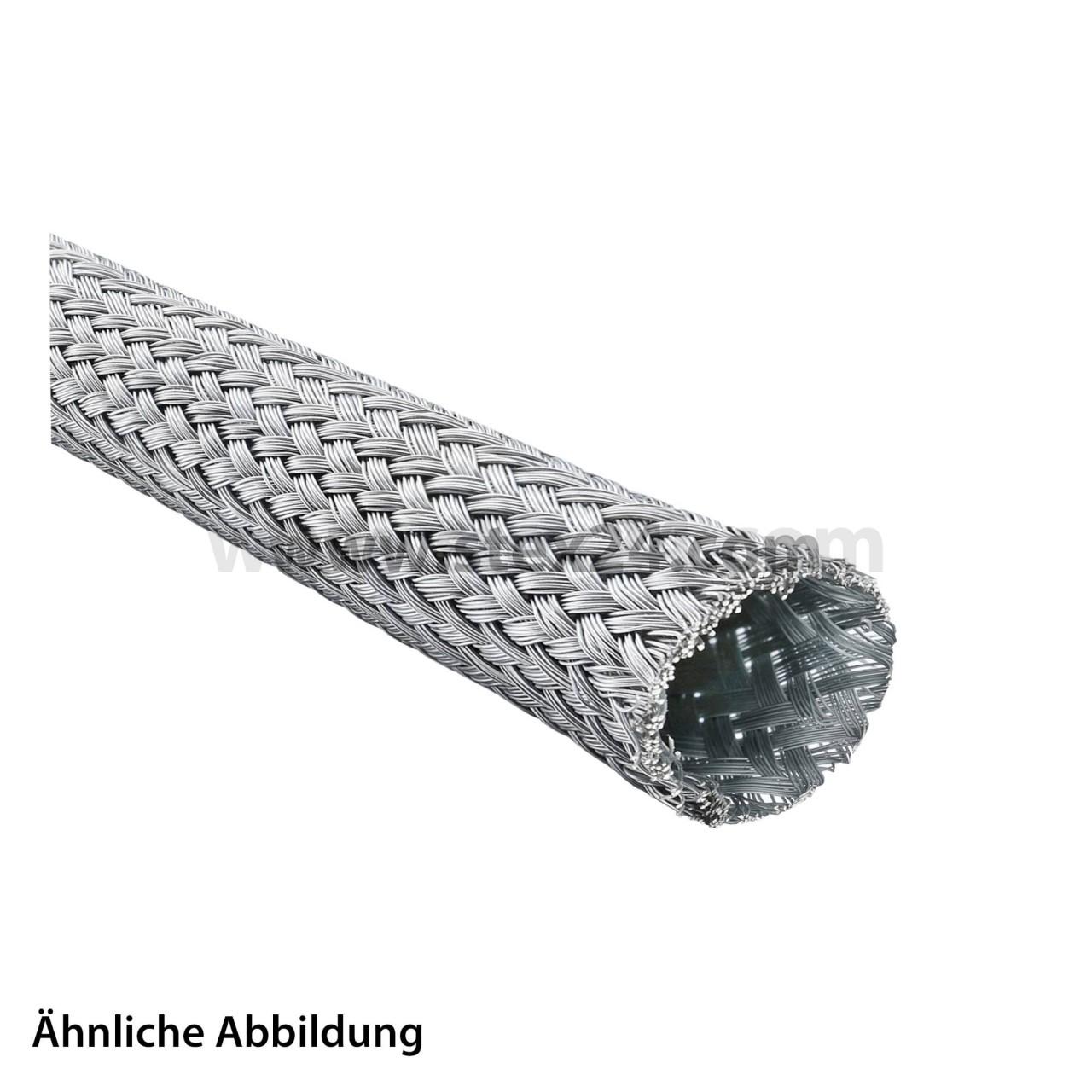 Geflechtschlauch-aus-verzinntem-Stahldraht