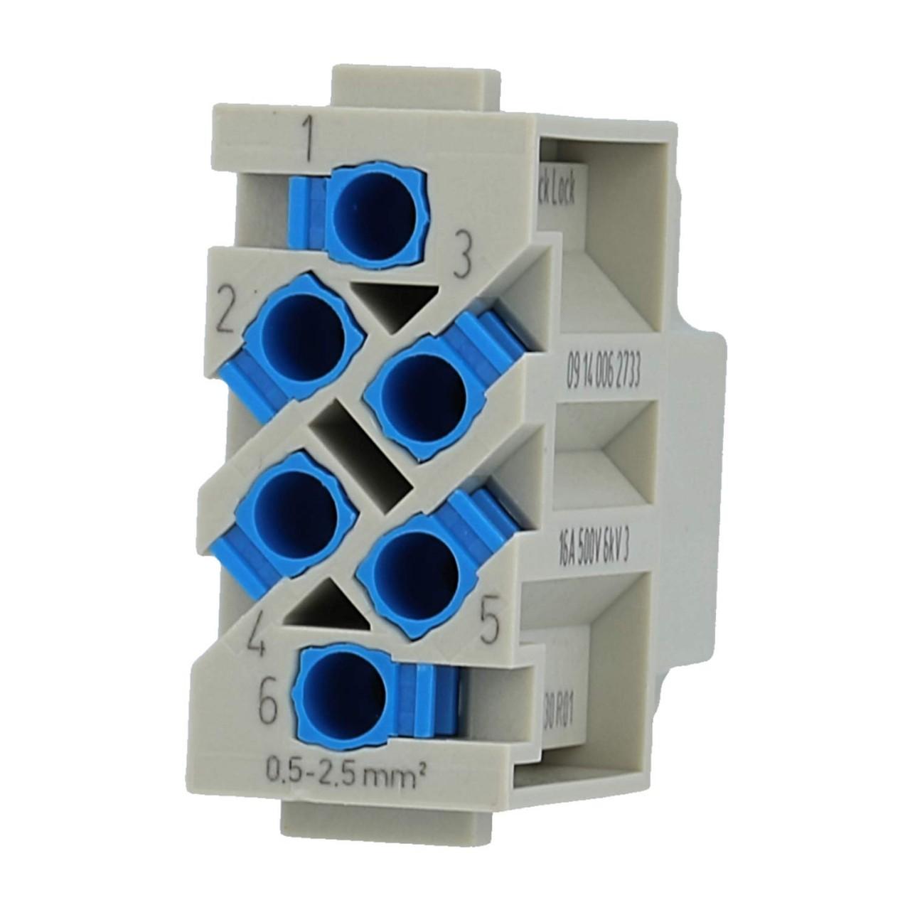Steckverbinder mit Quick-Lock Anschluss