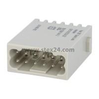 09140122632 Harting Han DD Modul Stifteinsatz (M) Quick-Lock-Anschluss 12-polig