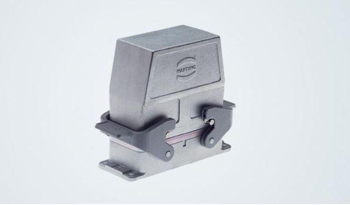 Harting Han® EMV Gehäuse für erhöhte EMV-Anforderungen