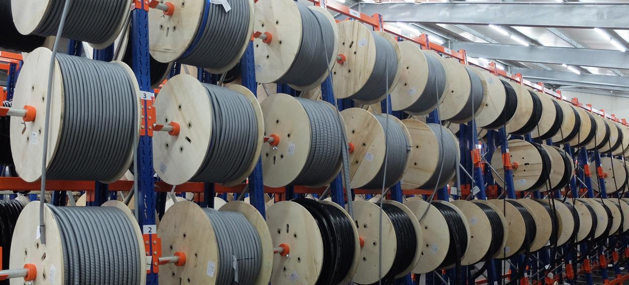Flexa Kabelschutzschläuche auf 600 Quadratmetern