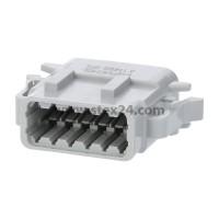 AS-12SF 114 Kabeldose ATM-Serie Buchse, Kodierung A, 12-polig, Crimpanschluss