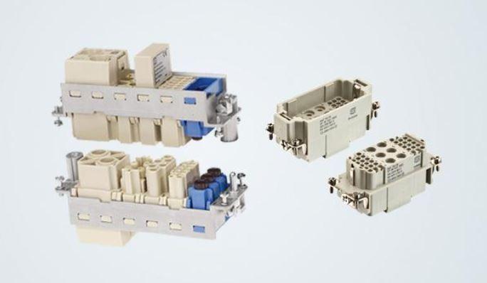 Harting Einsätze für modulare / kombinierte Steckverbindungen