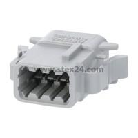 AS-8SF 113 Kabeldose ATM-Serie Buchse, Kodierung A, 8-polig, Crimpanschluss