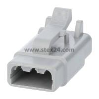 AS-3SF 116 Kabeldose ATM-Serie Buchse, 3-polig, Crimpanschluss