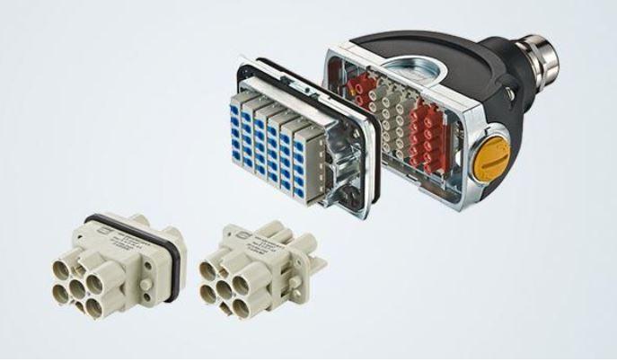 Harting Einsätze für möglichst kompakte Steckverbindungen