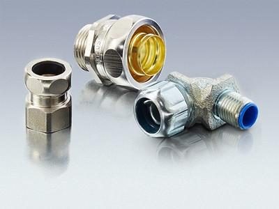 Produktübersicht Metall Schutzschlauch-Verschraubungen
