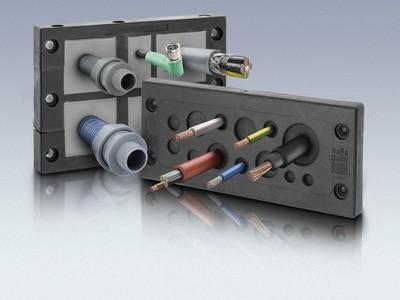Produktübersicht Kabeldurchführungen für konfektionierte Leitungen