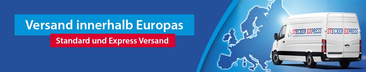 Versand innerhalb Europas