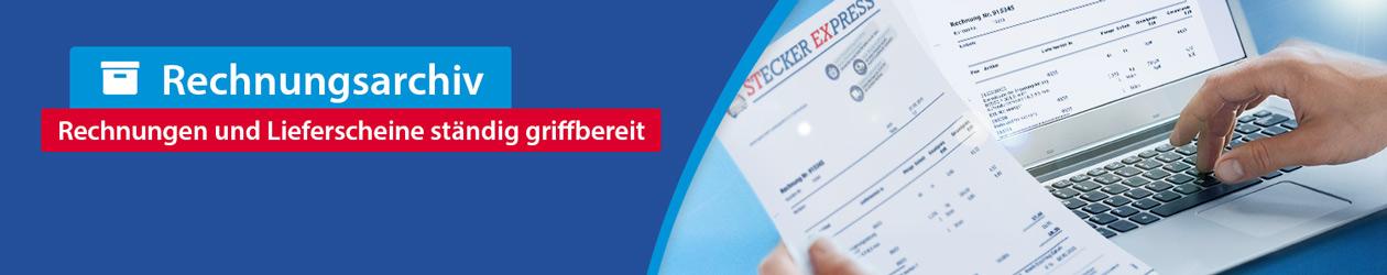 Banner Kundenkonto Rechnungsarchiv