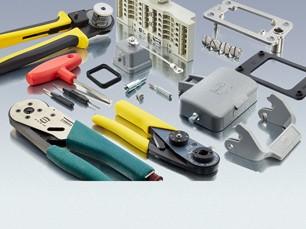 Produktübersicht Harting Werkzeug und Zubehör