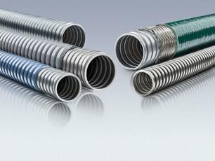 Produktübersicht Metallschutzschläuche