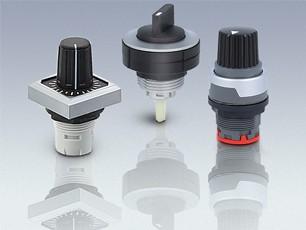 Potentiometer- und Drehschalter- Antriebe