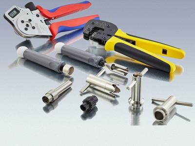 Produktübersicht Rundsteckverbinder Werkzeug