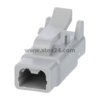 AS-2SF 115 Kabeldose ATM-Serie Buchse, 2-polig, Crimpanschluss